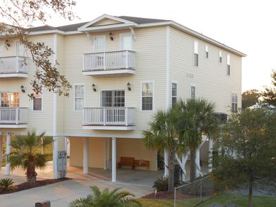 Photo for Huge 5 BR/5.5BA-1BLK frm Beach/Marsh/Dock/Pvt Pool/Pet Friendly/WATER FRONT