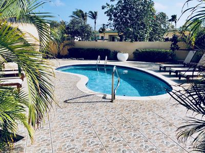Photo for Make this your best vacation ever! Spacious house, Private pool  Walk to beach!