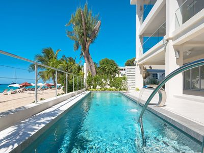 Photo for Luxury Oceanfront Condo with Pool - The Villa at The St. James (4 bed)