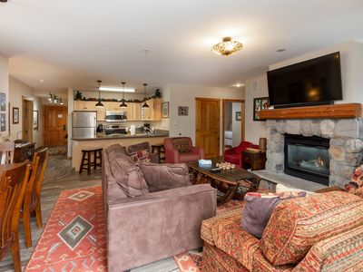 Photo for Penthouse Condo w/Rooftop Deck Overlooks Village, King Bed, Free WIFI