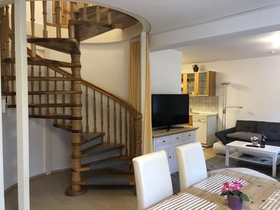 Photo for Spacious 4-star **** apartment -familienfreundlich- near the lake with garden