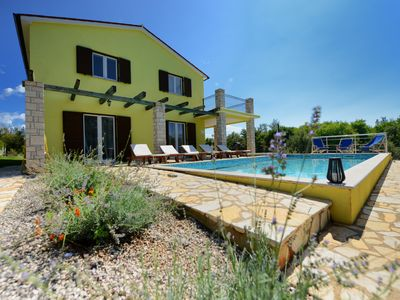 Photo for Modern Villa Kontesici 14 with jacuzzi