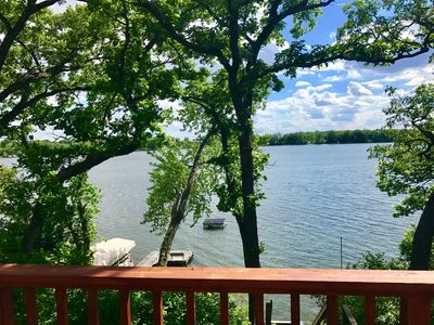 """Quiet, Classic, """"Up-North"""" Cabin On Reeds Lake - Clear Spring Fed Water!"""