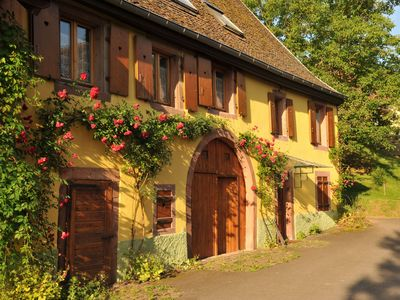 """Photo for Bed and breakfast """"Couleurs Nature"""" with kitchenette: Quiet, well located"""