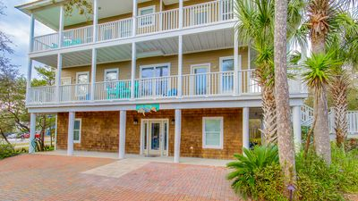 Photo for 5 BDR - Priv Pool - Gulfviews & the best beach location South of 30A