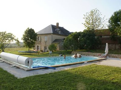 Photo for La Chapelle Saint Jean: Character house with pool