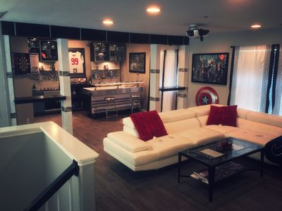 Ready home with man cave and gym pearland