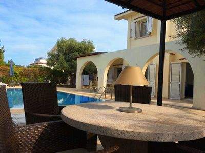 Photo for Villa Tembel one of the closest Villa's with a pool to the Kyrenia town centre.