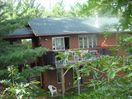 Great Cabin on Private Frontage, Excellent view and Fishing