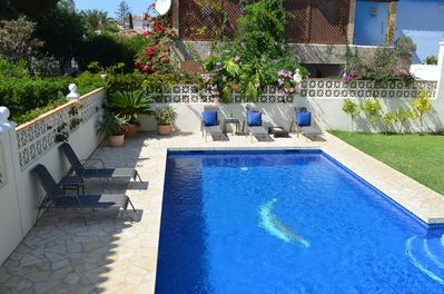 Private villa-The Beach House, Marbesa, large swimming pool ...