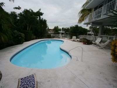 Photo for Canal Front 3 bedroom Pool Home on Coco Plum. FREE Dock Included!