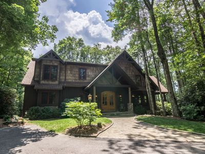 Photo for Agape Cove - 10 mins to downtown Blowing Rock! Hot Tub - Outdoor Fireplace - Jacuzzi Tub