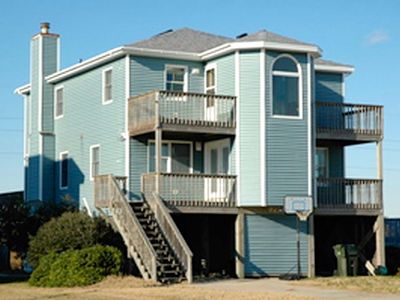 Photo for South Nags Head: Spacious 4 BR / 4 BA  W/Community Pool and Private Hot Tub