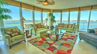 Photo for THE MILLION DOLLAR VIEW @ CARIBE, WATER VIEWS ALL AROUND, TONS OF FAMILY AMENITIES