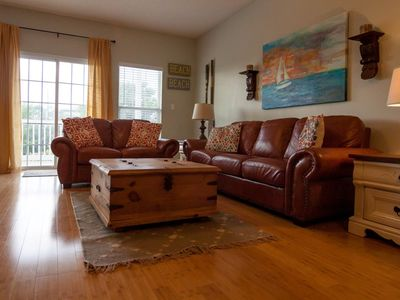 Photo for Great condo- Wifi- Sleeps 6-8- Close to Beach- Pool- Relax!