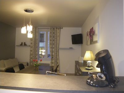 Photo for Apartment in the center of Gérardmer, 4 people, 1 independent bedroom