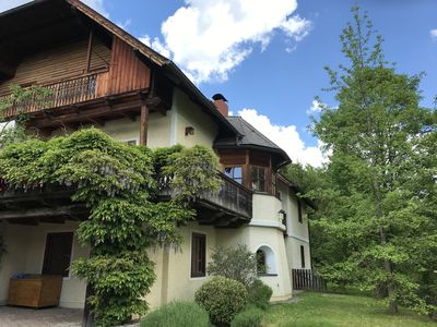 Photo for Scenic appartment in country villa,  close to Graz, garden, sep. entrance
