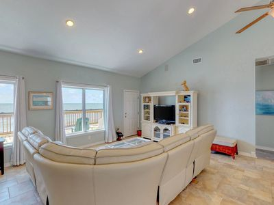 Photo for NEW LISTING! Spacious, waterfront home w/ free WiFi & beach access!