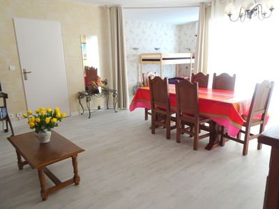 Photo for Large and bright apartment near the city center and the beach
