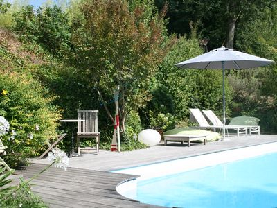 Photo for Bed and Breakfast in the middle of the countryside near Bordeaux, 5 minutes from Lagorce