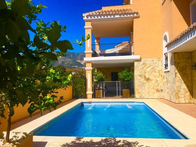 Photo for #Heated Private pool with Sea and Mountain Views*