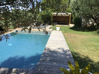 Photo for Superb sea view villa 10 minutes from the beaches