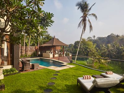 Photo for Luxury villa ☆spectacular views ☆ heart of real Bali ☆ includes Chauffer/car