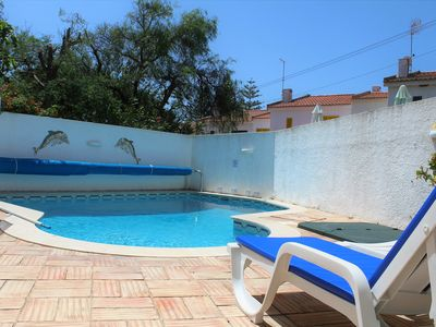 Photo for Holiday Home in Luz with Pool, near the Beach