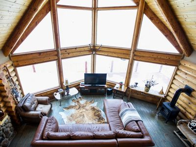 Photo for Magnificent Grand Teton View Log Home