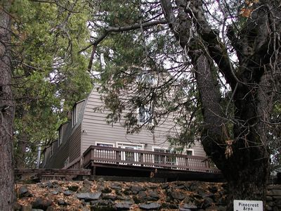 Photo for PinecrestAreaRentals#16 Retreat Cabin sleeps 22!