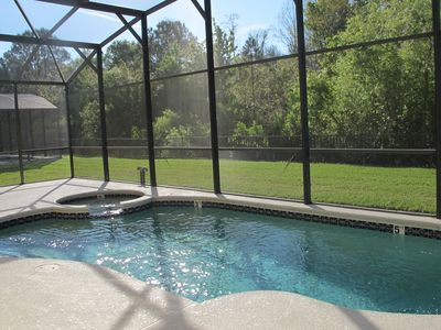 Photo for 5 Bedrooms pool home in Crystal Cove gated community near Disney