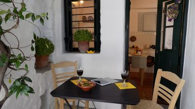 Photo for Jasmine House in the heart of Chora of Skyros, can accommodate 3 to 4 people