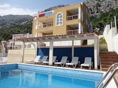 Photo for Apartment with pool for 2 to 4 people - Quiet location - pure holiday feeling