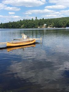 Photo for Little Sebago Lake - Beautiful two-level lakefront home with stunning views