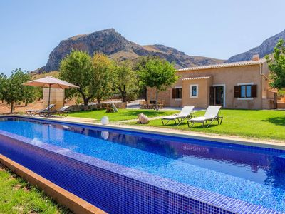 Photo for Finca Can Jaumí, surrounded by mountains and panoramic sea views