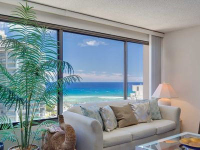 Photo for MONTHLY Discovery Bay 2409 1 Bedroom Ocean / Sunset / Marina / City Views 1 Queen Bed Sofa Bed
