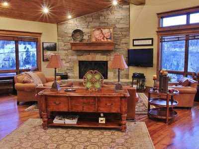 Photo for Quintessential Deer Valley Luxury - Silver Lake Shuttle, Hot Tub, Theatre & VIEWS