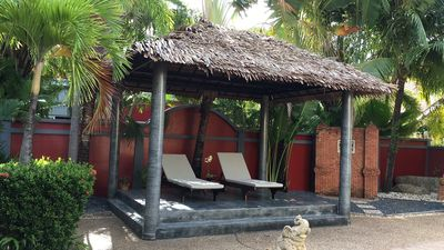 Photo for Pool villa in tropical garden, near Nai Harn Beach u. Rawai Beach