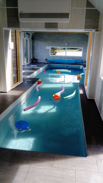 Awesome Property Image#1 VILLA Brittany 3 *, Indoor Pool 12m 30 °, Sea