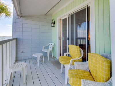 Photo for Waterfront getaway w/ private deck & beach access - snowbirds welcome!