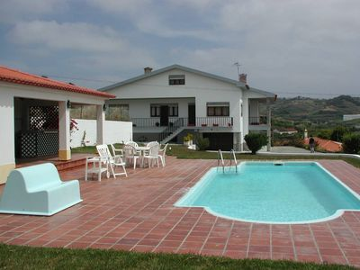 Photo for Large quiet Portuguese villa with well maintained garden with pool near the sea