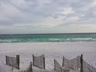 Photo for Watch the sun rise and set in this beautiful beachfront contemporary condo