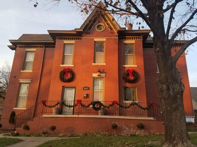 Photo for Experience Saint Joseph stay in a historic mini mansion