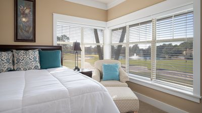 Master Bedroom with Golf Course View