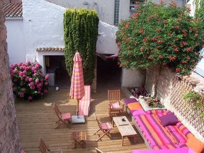 Photo for House 8 pers old character typical of the island of oleron with courtyard interieu