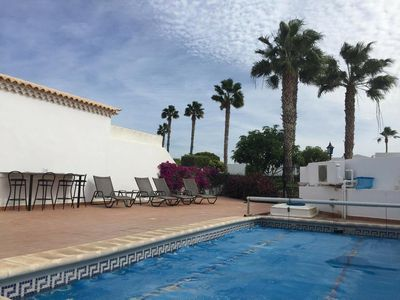 Photo for 4 bed villa with private pool  Ideal location