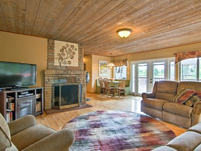 Photo for Cozy Mason Lake Cabin w/Deck by Olympic Peninsula!
