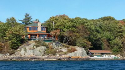 Photo for 15% REDUCED...Private Island...Spacious Home...Great Fishing...Channel-side