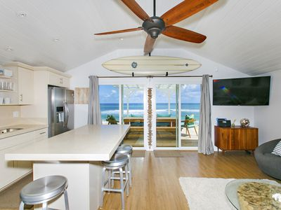 Photo for OCEANFRONT NORTHSHORE HOME | ALOHA BEACH & SURF | ROCKY POINT & SUNSET BEACH