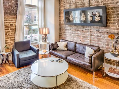 Photo for Contemporary loft w/ modern conveniences in the heart of the Historic District!